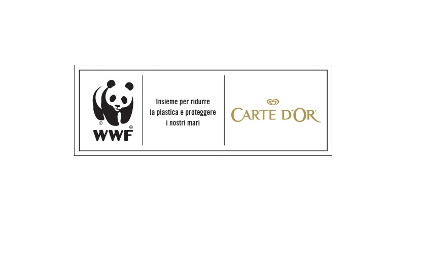 WWF & Carte D'Or logos