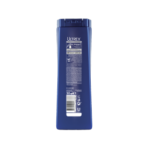 Back of Shampoo pack Clear Ultrex Dry Scalp 2in1360ml