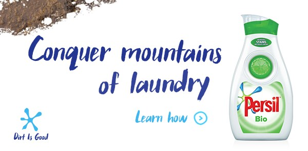 conquer moutains of laundry