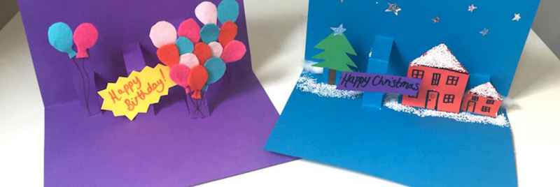 How To Make Pop Up Christmas Cards Birthday