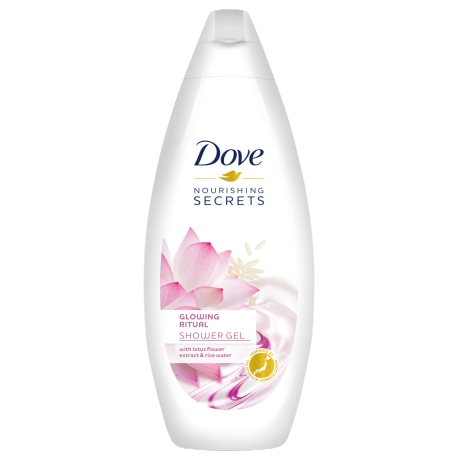 Dove Nourishing Secrets Lotus Flower & Rice Water gel za tuširanje 250ml