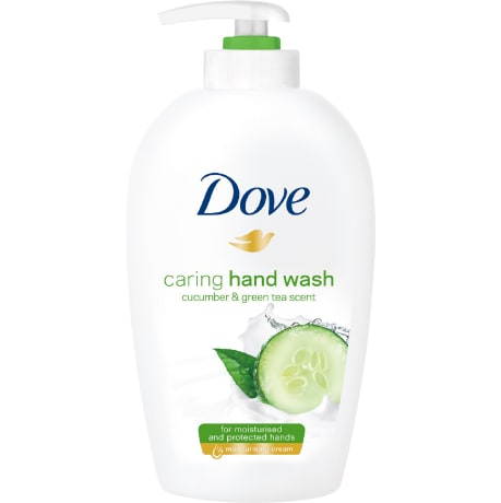 Dove Caring Hand Wash - Cucumber & Green Tea Scent 250 ml