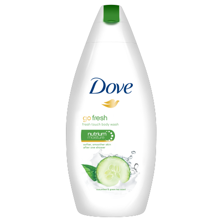 Dove Go Fresh Fresh Touch Body Wash 250 ml