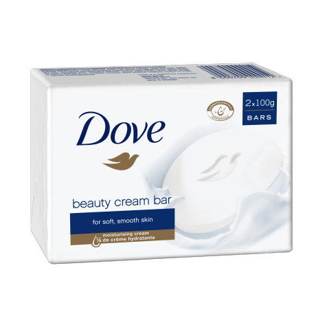 Dove Original Beauty Cream Bar 2x100 g