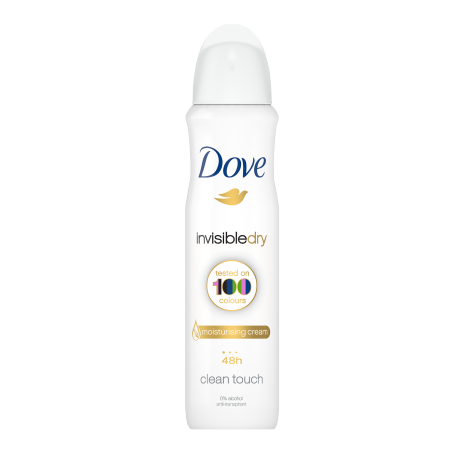 Dove Invisible Dry spray déodorant 150 ml