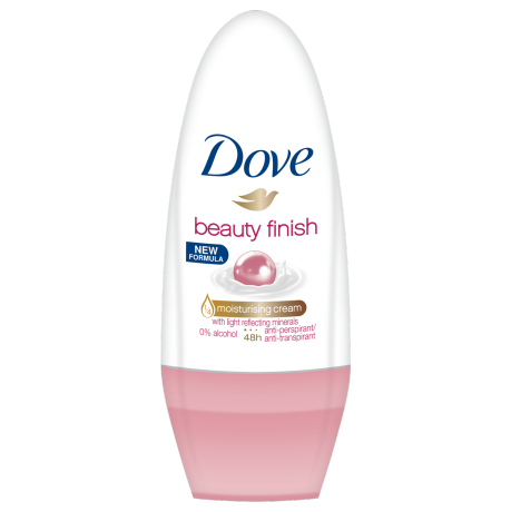 Dove Beauty Finish antiperspirant roll-on 50ml