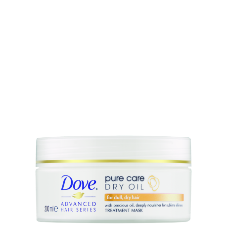 Dove Saç Bakim Maskesi Advanced Hair Series Pure Care Dry Oil 200ml