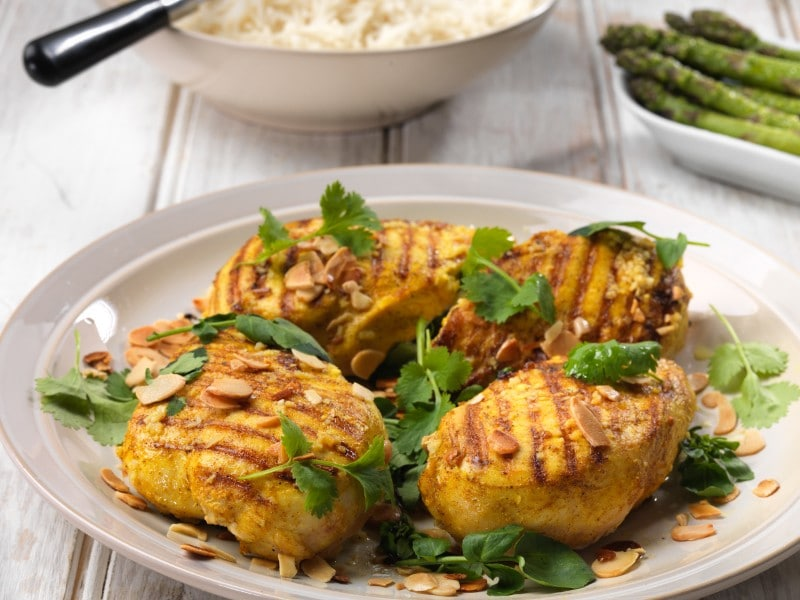 Griddled Spicy Chicken