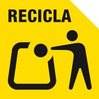 recicla amarillo