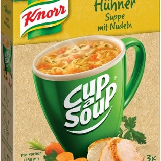 Knorr Cup a Soup Hühner Suppe mit Nudeln