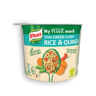 Knorr My Veggie Snack Thai Green Curry Rice & Quinoa