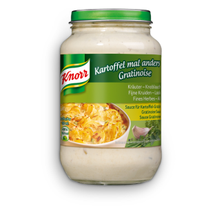 PNG - Knorr Gratinoise Ail Herbes