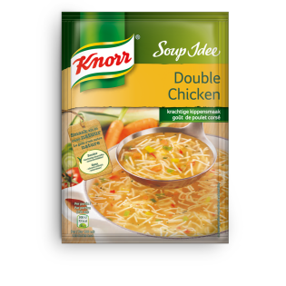 Knorr Soup idée Double Chicken