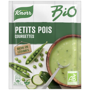 Soupe Petits pois Courgettes | Knorr