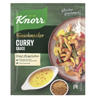 KNORR Feinschmecker Curry Sauce