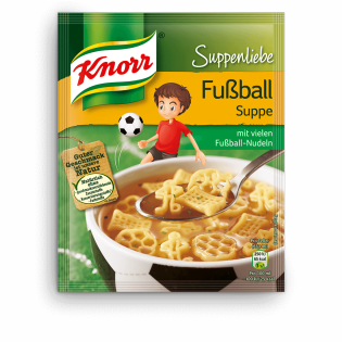 KNORR Suppenliebe Fußball Suppe | Knorr