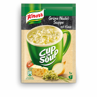 Knorr Cup a Soup Grüne Nudel Suppe mit Käse