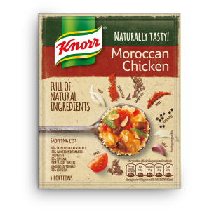 Naturally Tasty Moroccan Chicken