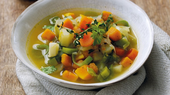 Autumnal Root Vegetable Soup