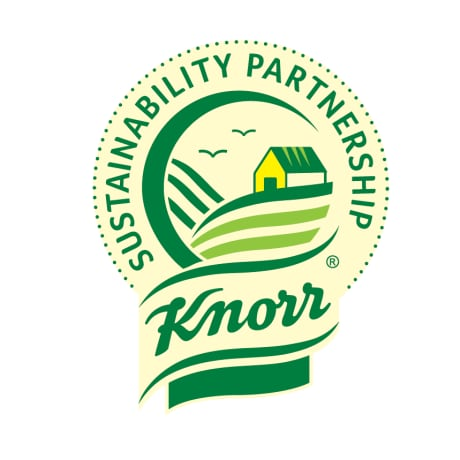 Knorr Sustainability Partnership Logo