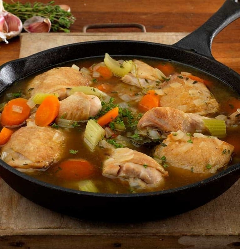 chicken hotpot stew