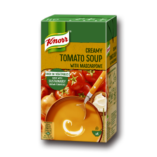 Tomatsuppe Knorr