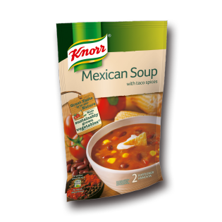 Mexicansk suppe Knorr