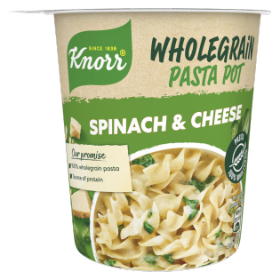 Knorr Snack Pot Wholegrain Spinach & Cheese