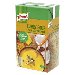 Curry Soup with Coconut milk 1L