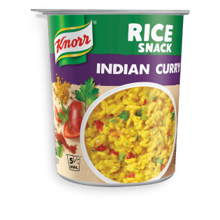 Rice Snack Indian Curry