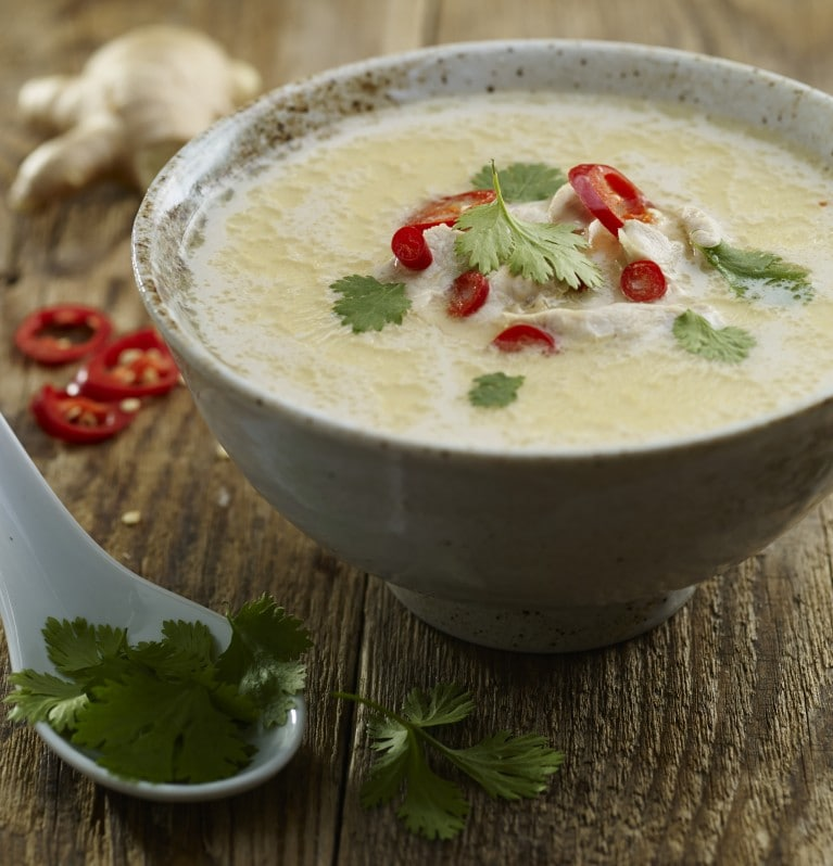 Warming thai soup