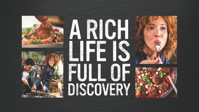 a rich life is full of discovery