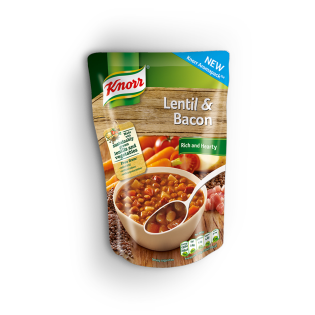 Lentil and Bacon Soup