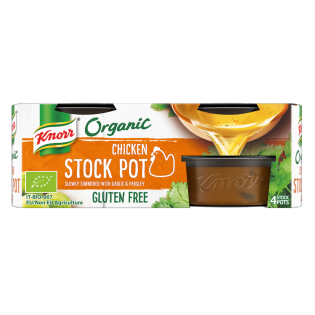Organic Chicken Stock Pot