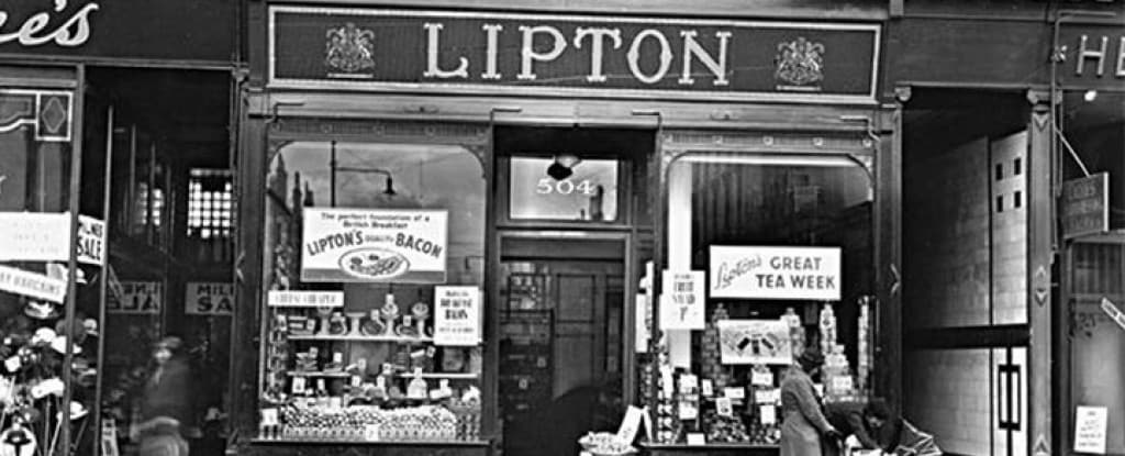 History of Lipton Tea From The 1800s Through To Today