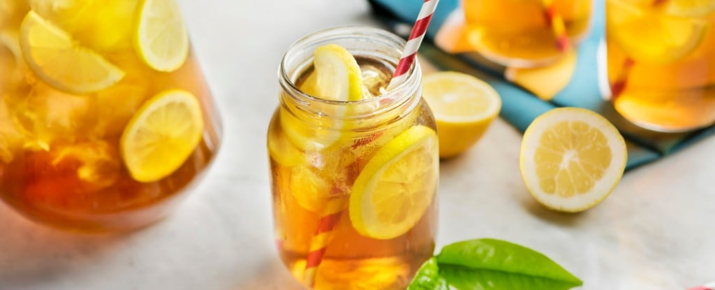 brew iced green tea