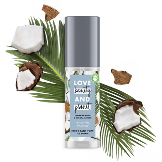 déodorant brume fraîcheur Love Beauty Planet 125ml