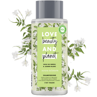 shampooing aurore éclatante Love Beauty and Planet 400ml