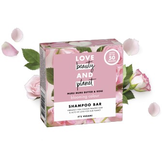 shampooing solide éclosion de couleur Love Beauty and Planet 90g