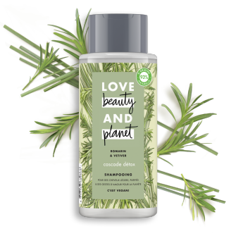 shampooing cascade detox Love Beauty Planet 400ml