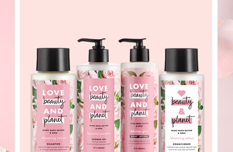 Love Beauty and Planet – produkter og modeller