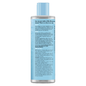 Achterkant conditioner Love Beauty and Planet Marine Algae & Eucalyptus Conditioner 400ml
