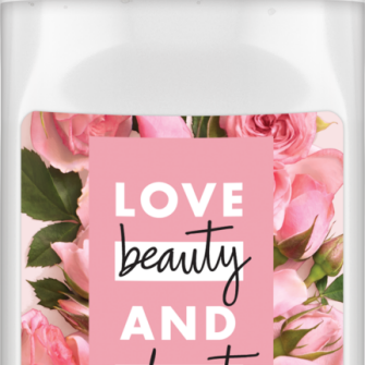 Vorderseite des Deodorants: Love Beauty & Planet Pampering Deodorant Roll-On