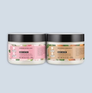 Two body butter tubs