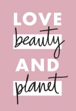 Love Beauty and Planet logó