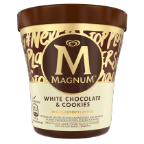 Magnum Becher White Chocolate & Cookies