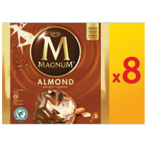 PNG - Magnum Almond x8