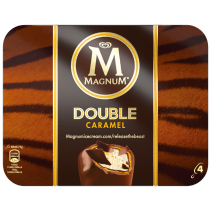 PNG - Magnum Double Caramel x4