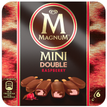 PNG - Magnum Mini Double Raspberry x6