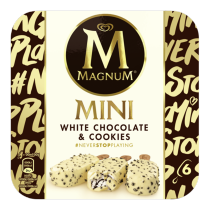 PNG - Magnum Mini White Chocolate & Cookies 55ml 6MP